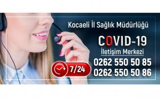 COVID-19 İletişim Merkezi İl Sağlık Müdürlüğü bünyesinde hizmet veriyor