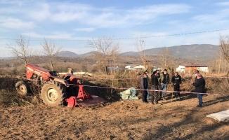 Tarla sürerken traktörden düşen sürücü hayatını kaybetti