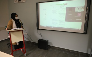 8 bin öğrenci online eğitim alıyor