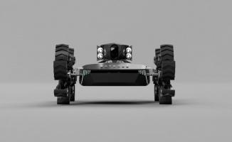 """Yerli insansız kara aracı Baybars, """"tekerlekli modüler sistemi"""" ile engel tanımıyor"""