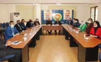 AK Parti'den Diyarbakır Barosu'na sürpriz ziyaret