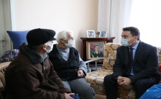 Ali Babacan'dan şehit ailelerine taziye ziyareti