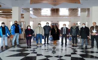 Ardahanlı iş insanları ARÜ'nün Yaşam Merkezi'ni gezdi