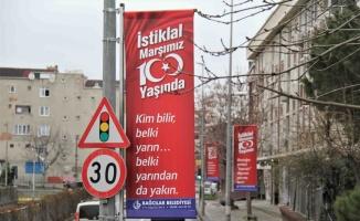 Bağcılar'da İstiklal Marşı'nın kabulünün 100. yılına özel programlar düzenlenecek