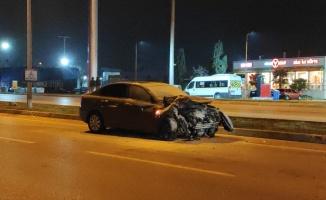 Bursa'da sipariş götüren motosikletli kurye trafik kazasında hayatını kaybetti