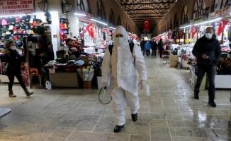 Kovid-19 vakalarının arttığı Trakya'da denetimler ve dezenfeksiyon çalışmaları aralıksız devam ediyor