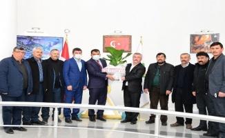 Malatya Hekimhan MHP'den Başkan Gürkan'a ziyaret