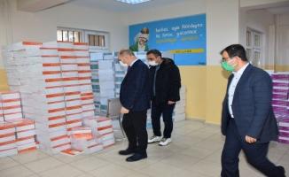 Öğrencilere 68 bin kitap dağıtıldı