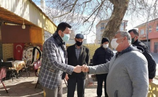 Pınarhisar Belediye Başkanı Talay, esnafı ziyaret etti