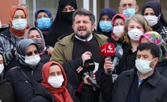 Sakarya'da havai fişek fabrikasındaki patlama davasının müştekilerinden basın açıklaması