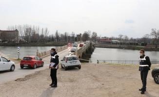 Trakya'da kısıtlamanın uygulanmadığı ilk cumartesi Kovid-19 tedbirleri denetimi artırıldı