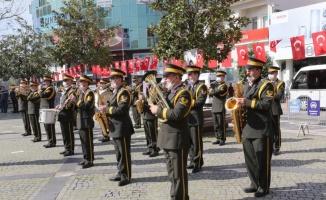 Atatürk'ün Edremit ve Ayvalık'a gelişinin 87. yılı törenlerle kutlandı