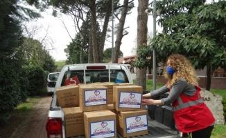 Azerbaycanlı öğrencilere Kocaeli'den ramazan desteği