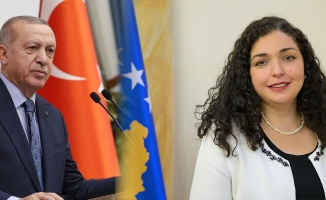 Cumhurbaşkanı Erdoğan'dan Kosova'ya tebrik