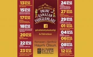 Gölcük Belediyesi'nden Ramazan ayına özel online programlar