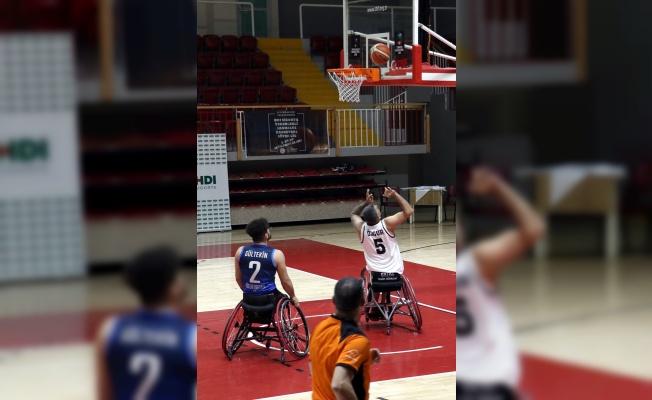 HDI Sigorta Tekerlekli Sandalye Basketbol Süper Ligi 1. etap müsabakaları tamamlandı