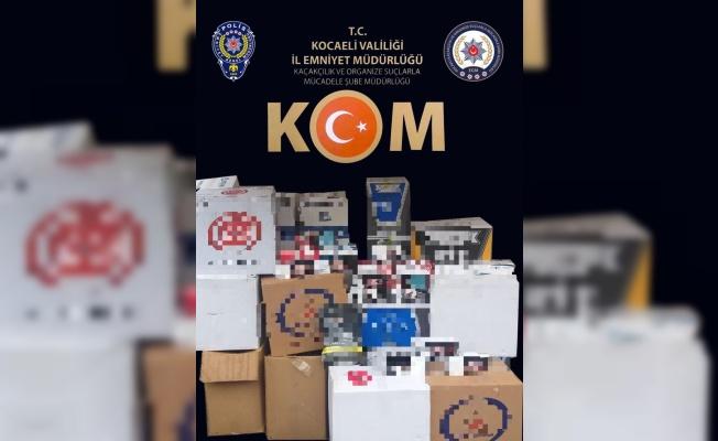 Kocaeli'de kaçak tütün satan 5 zanlı hakkında adli işlem başlatıldı