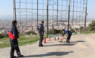 Manisa'da 3 pare top atışı yapıldı