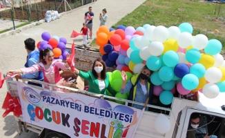 Pazaryeri ilçesinde 23 Nisan Ulusal Egemenlik ve Çocuk Bayramı kutlandı