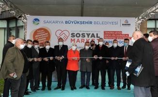 Sosyal Market SGM'de açıldı