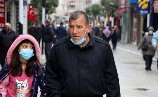 Vaka artışlarında ilk sırada olan Kırklareli'nde bazı vatandaşların hala maske takmadığı gözleniyor