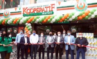 Bağcılar'da üçüncü Tarım Kredi Kooperatif marketi açıldı
