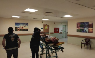 Bursa'da otomobilin çarptığı kişi ağır yaralandı
