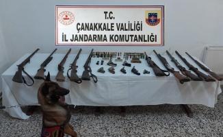 Çanakkale'de yasa dışı silah ticareti yaptığı iddia edilen şüpheli yakalandı