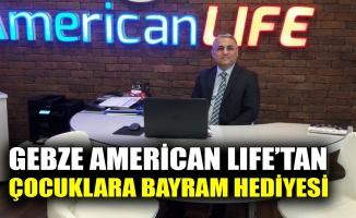 Gebze American Life'tan çocuklara bayram hediyesi