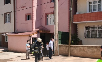 Gebze'de çıkan yangında ev hasar gördü
