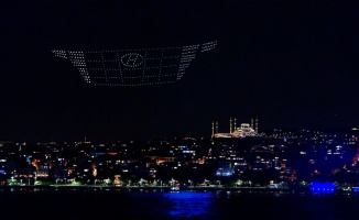 Hyundai Tucson, İstanbul Boğazı'ndaki ışık gösterisiyle tanıtıldı