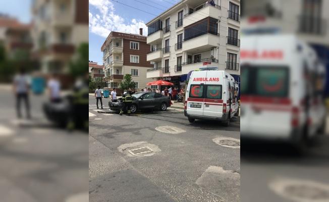 Kırklareli'nde trafik kazası: 1 yaralı