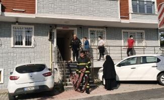 Kocaeli'de bir apartmanda çıkan yangın söndürüldü