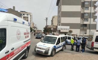 Gebze'de minibüsün çarptığı kadın yaralandı