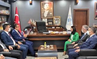 Meteoroloji Genel Müdürü Coşkun'dan Pazaryeri Belediye Başkanı Tekin'e ziyaret