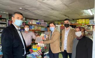 MÜSİAD Tekirdağ Şubesi'nden ''veresiye defteri'' uygulamasına destek