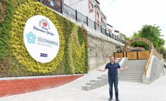 Tekirdağ'da Atatürk Tuna Boyu Seyir Parkı hizmete açılacak