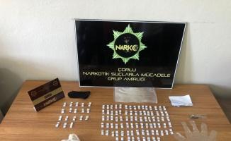 Tekirdağ'da uyuşturucu operasyonunda 2 şüpheli gözaltına alındı