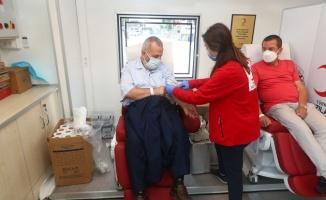 Bağcılar'da kan bağışı kampanyası düzenlendi