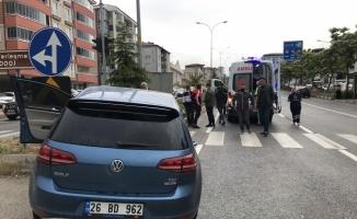 Bilecik'te 2 otomobil çarpıştı: 2 yaralı