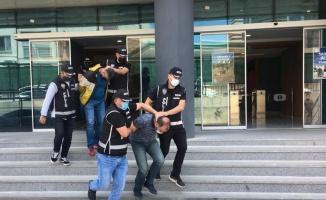 Bursa ve İzmir'deki suç örgütü operasyonunda yakalanan 4 şüpheli tutuklandı