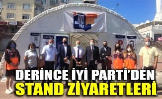 Derince İYİ Parti'den stand ziyaretleri