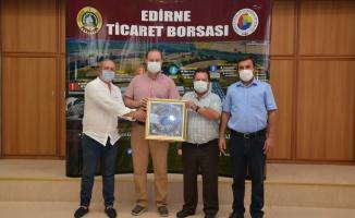 Edirne Ticaret Borsası'nda yeni mahsul buğday kilogramı 5,046 liradan işlem gördü