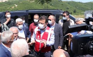 İBB Başkanı İmamoğlu, Melen Barajı'nı inceledi