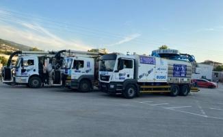 İstanbul'daki müsilaj temizliği için Bursa'dan destek ekibi gönderildi