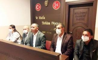 Kilis'te MHP'lilerden 'birinci parti' sözü