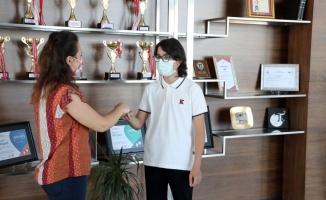 LGS kapsamında yapılan sınavda Edirne'de 3 öğrenci 500 tam puan alarak adını birinciler arasına yazdırdı
