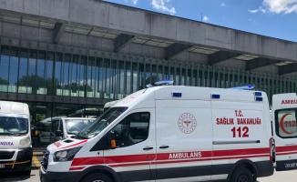 Lüleburgaz'da bıçaklı kavgada yaralanan kişi hastaneye kaldırıldı