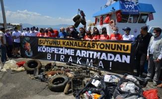 Marmara Denizi'nde müsilaj için dalış yapıldı