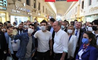 Memleket Partisi Genel Başkanı Muharrem İnce partisinin Bursa İl Başkanlığını açtı